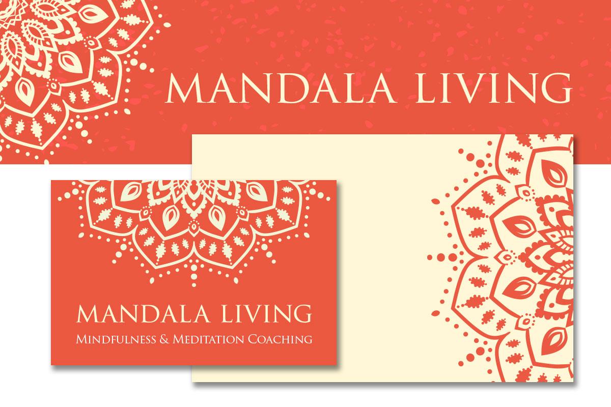 logo branding - Mandala Living