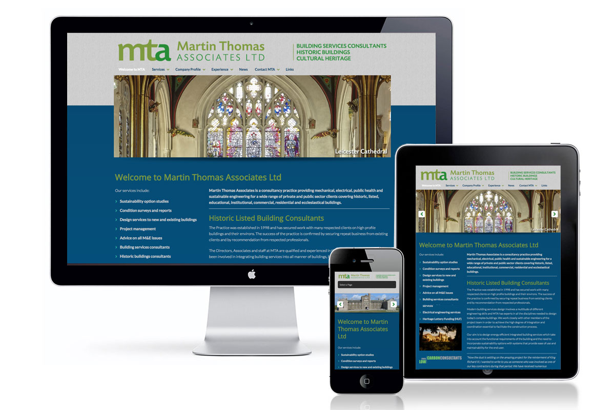 Martin Thomas Associates website
