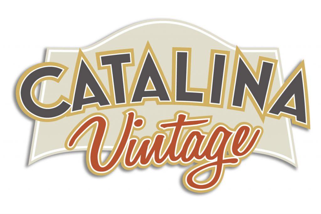 catalina vintage logo design