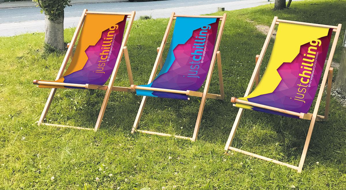 Printed Deckchairs by Creative Wisdom