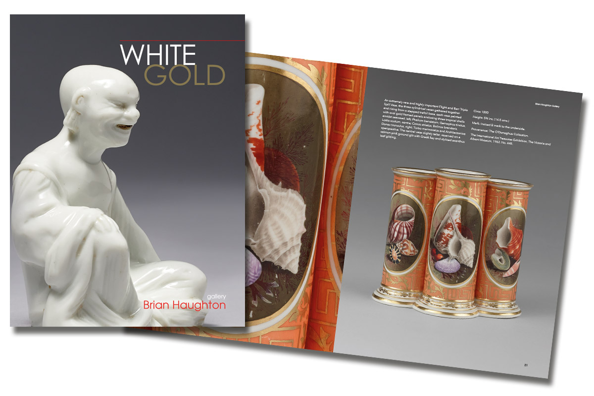 White Gold Catalogue, Brian Haughton Gallery