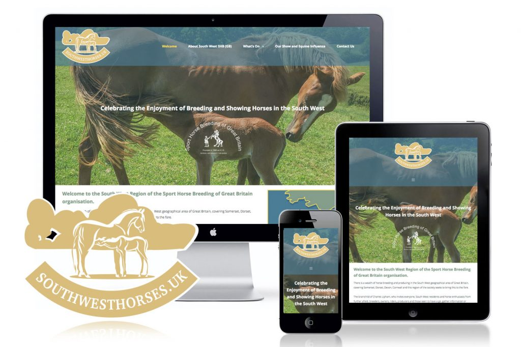 Sport Horse Breeding GB website