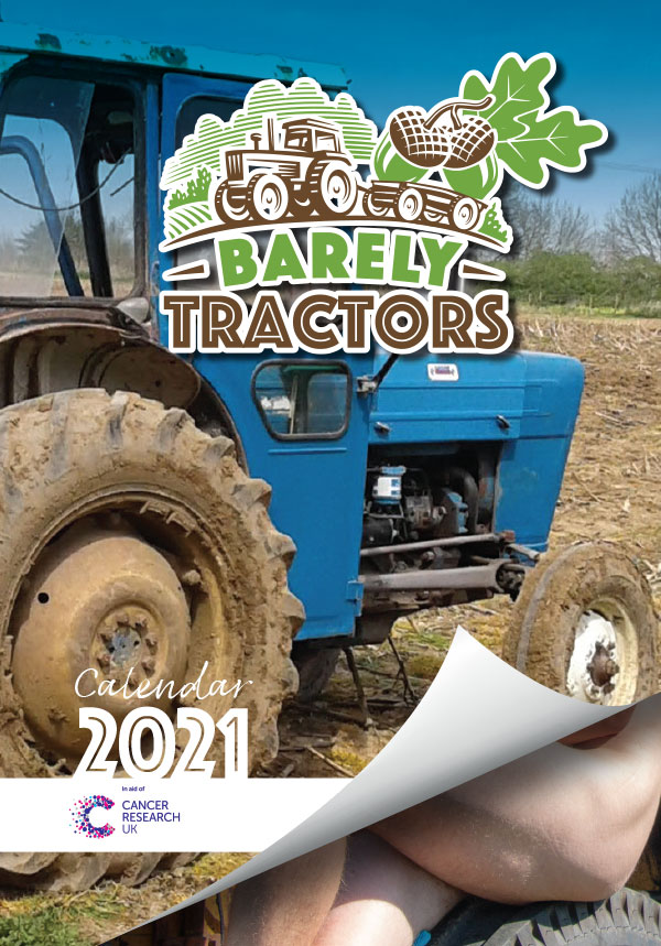 Barely Tractors Calendar