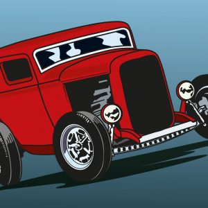 32 Sedan illustration by Creative Wisdom