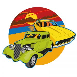Hot Rods - illustration by Creative Wisdom