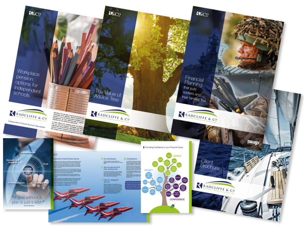Radcliffe Brochures