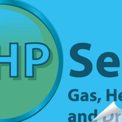 GHP Services logo design by Creative Wisdom, Graphic design company Romsey, Southampton